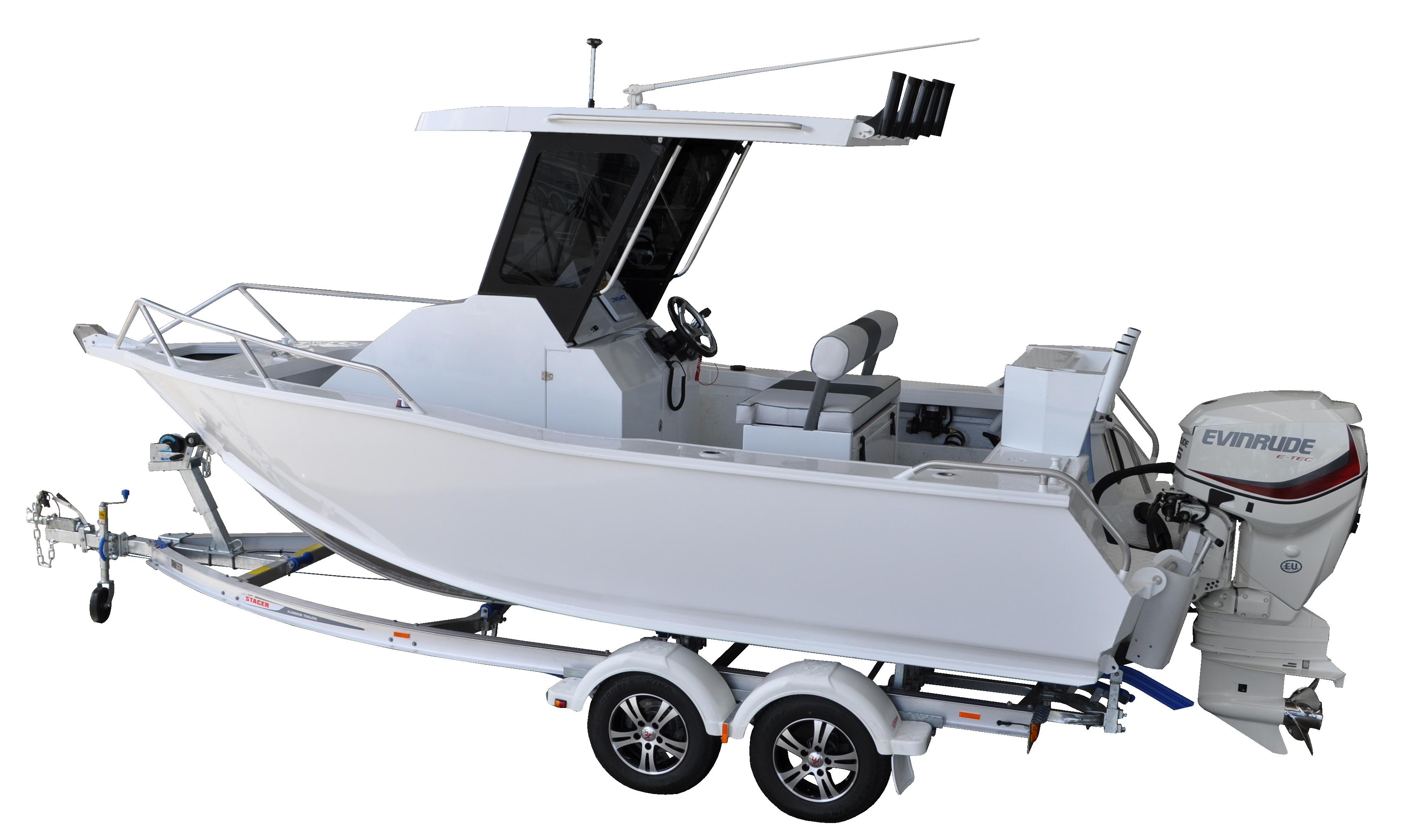 589 Ocean Ranger CC PKG White